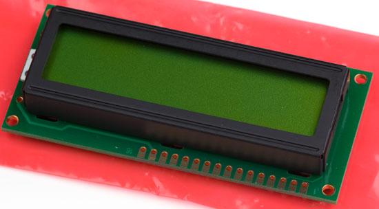 Basic Alphanumeric LCD