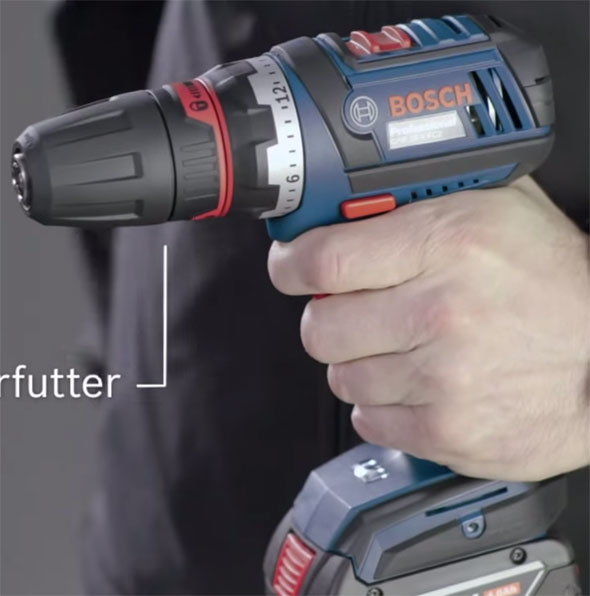Bosch 18V Click and Work Driver with Drill Chuck