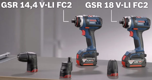 Bosch Click and Work Cordless Drill Driver
