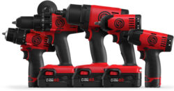 New Chicago Pneumatic Cordless Power Tools