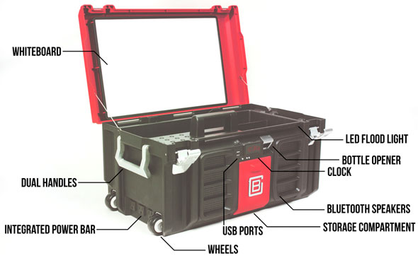 The Coolbox Tool Box Has Everything But Kitchen Sink