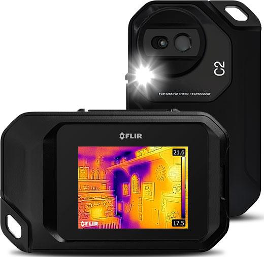 Flir C2 Thermal Imaging Camera – Pocket-Sized and More Affordable