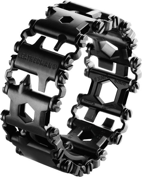 Leatherman Tread Multi-Tool Bracelet Black