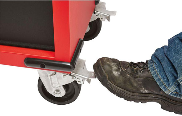 Milwaukee Ball Bearing Tool Cabinet Casters and Corner Bumpers