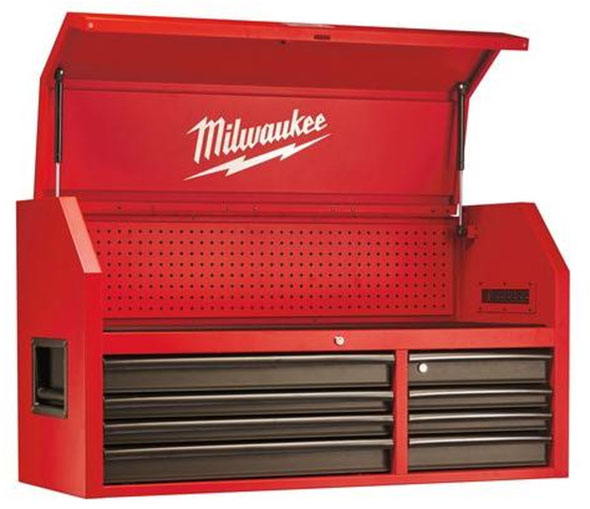 Milwaukee Ball Bearing Tool Chest Open