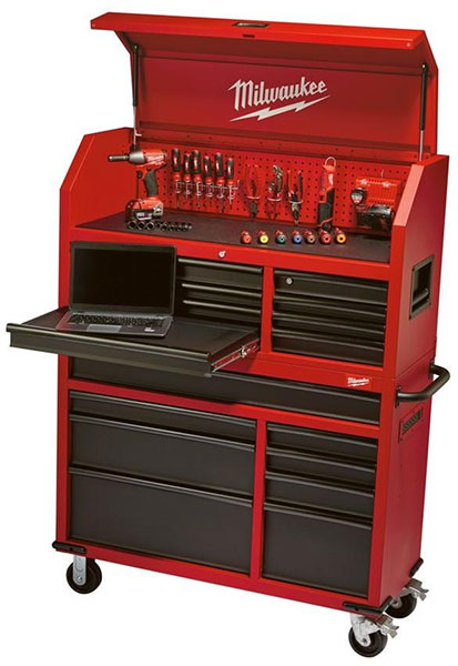 Milwaukee Ball Bearing Tool Storage Combo  sc 1 st  ToolGuyd & Milwaukee Ball Bearing Tool Storage is Full of Convenient Features