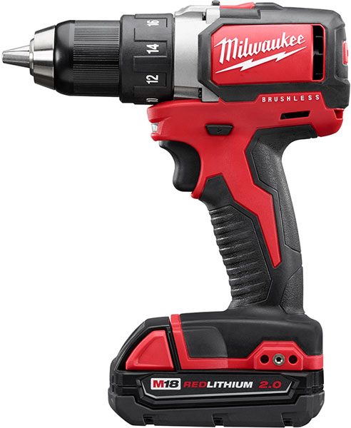 New Milwaukee Compact Brushless Drills And Impact Driver