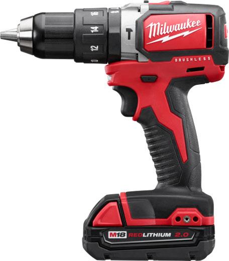 Milwaukee M18 2702-22CT Brushless Hammer Drill