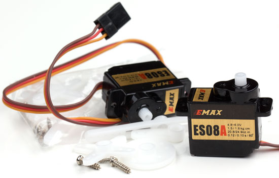Mini Servos with Horns and Hardware