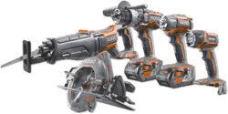 New Ridgid Gen5X 18V Cordless Power Tools