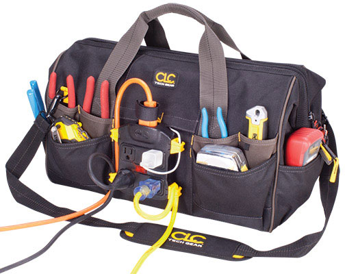 CLC Power Distribution Tool Bag Hooked Up