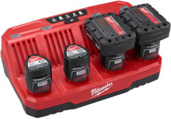 Milwaukee M12 4-Bay Battery Charger