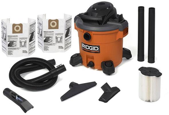 Ridgid Wet Dry Vacuum with LED Nozzle