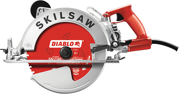 Skil sawsquatch is a beastly 10 14 worm drive circular saw skil sawsquatch spt70wm 22 worm drive saw greentooth Images