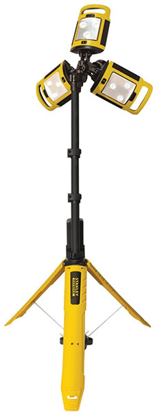 Check Out This Stanley Portable Led Tripod Light