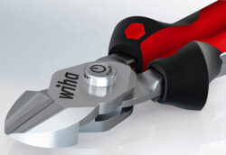New Wiha BiCut Cutters Have a Button-Activated Higher Leverage Cutting Mode