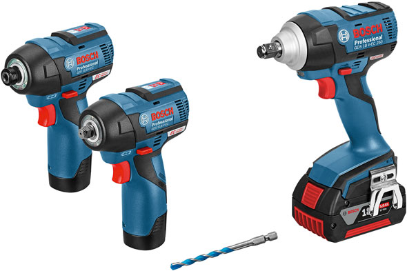 Bosch Brushless Impact Driver And Wrenches