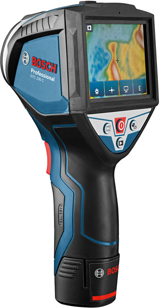 New Bosch Thermal Imaging Camera And Thermo Detector