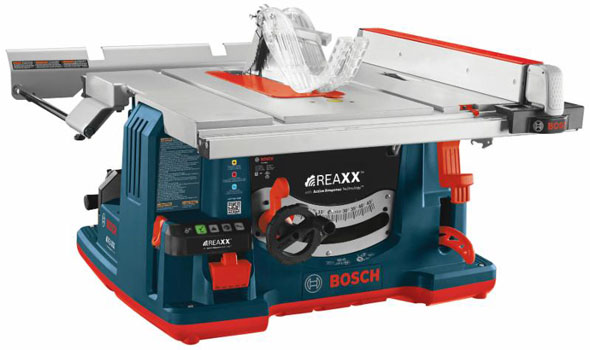 Watch This Video Bosch Reaxx Gts1041a Safety Table Saw