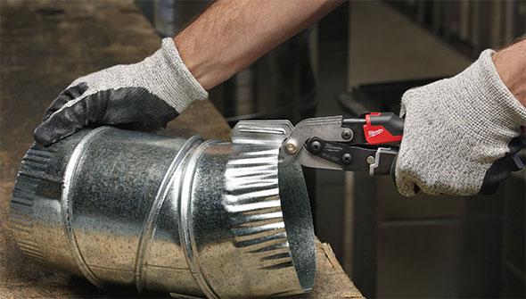 New Milwaukee Sheet Metal Tools Tinner Snips A Seamer