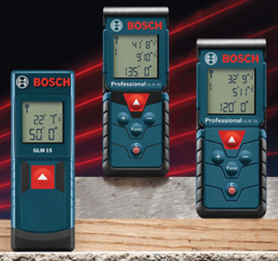 Bosch Basic Laser Distance Measuring Tools