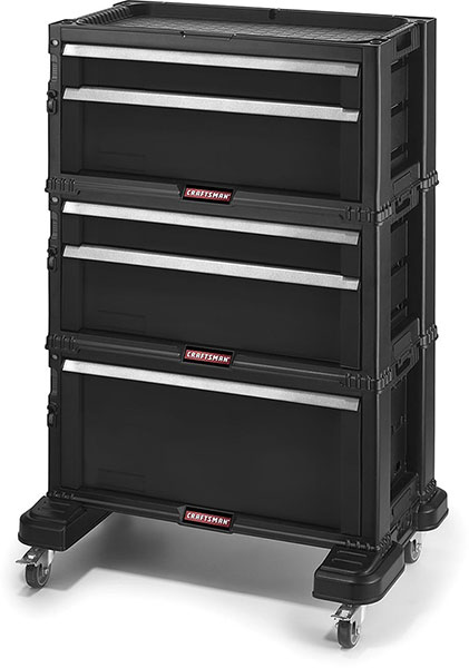 Amazing Craftsman Modular Tool Chest Storage System