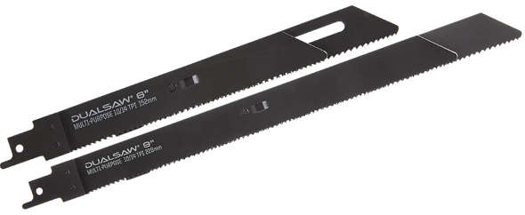 DualSaw reciprocating saw blades
