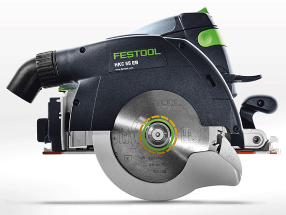 New Festool Hkc 55 Cordless Circular Saw Toolguyd