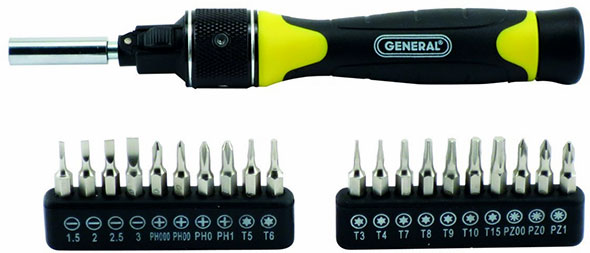 General Tools Express Ratcheting Screwdrivers