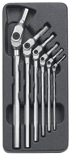 Hex Pro Flex Head Allen Wrench Set