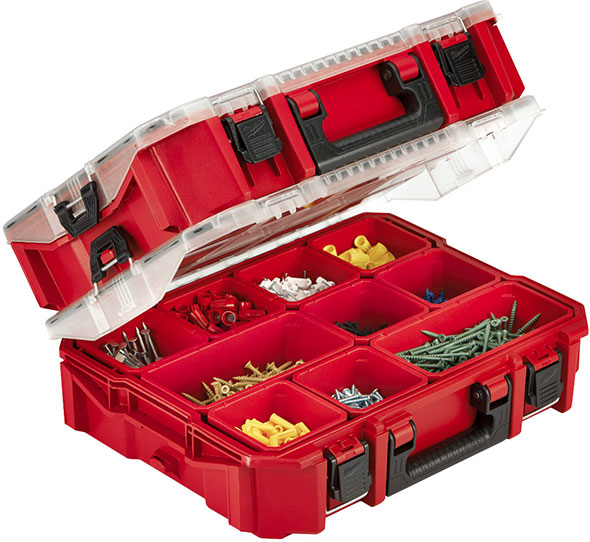 Milwaukee 48-22-8030 Organizer Tool Box Stacked