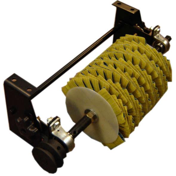 Moulding sander with brackets