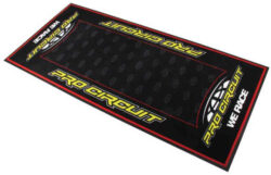 Pit Mats, Pit Rugs, and Workshop Flooring That Stop Small Parts from Bouncing Away