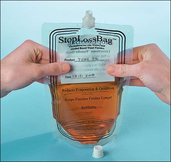 StopLossBag sold at Lee Valley