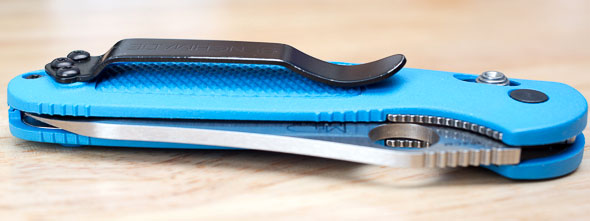 Benchmade Mini Griptilian Knife Pocket Clip