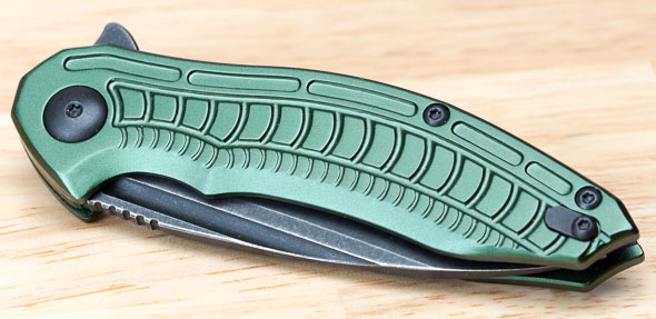 Brous Blades Bionic 2 Knife Closed Front
