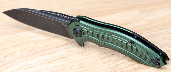 Brous Blades Bionic 2 Knife Open Angled