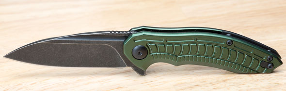 Brous Blades Bionic 2 Knife Open