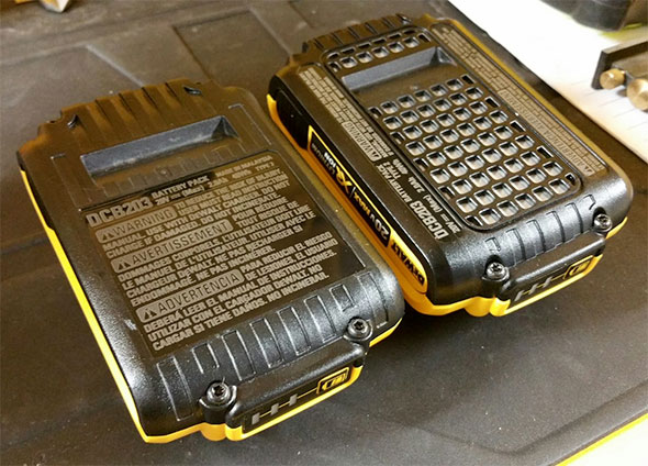 Reader Question Dewalt 20v Max Batteries With And Without