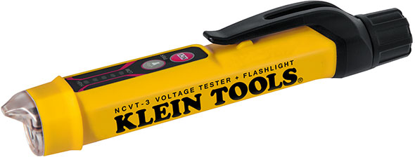 Klein NCVT-3 Voltage Tester and Flashlight