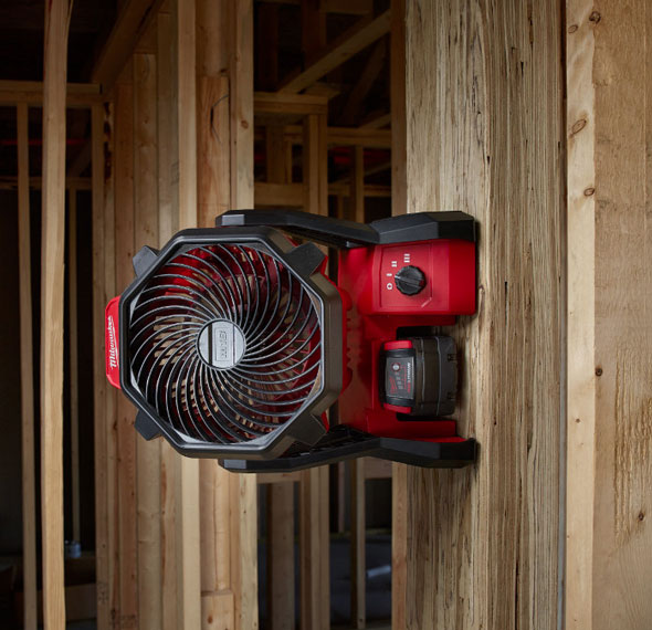 New Milwaukee M18 Jobsite Fan