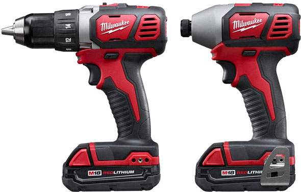 deal: milwaukee m18 drill and impact driver combo kit