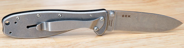 Randall Zancudo Folding Knife Open Back
