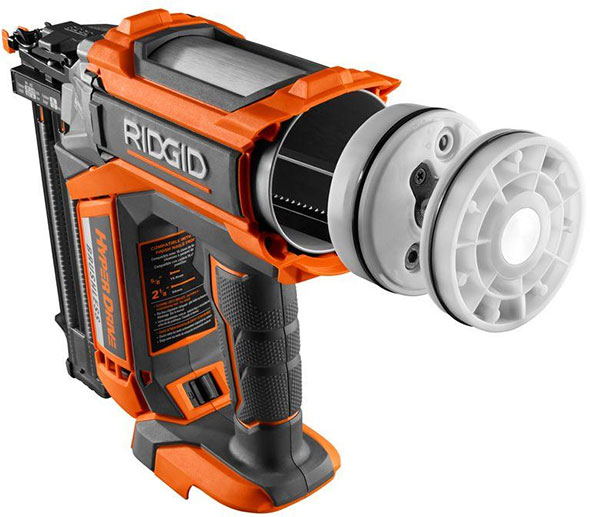 Ridgid Cordless Brushless Nailers With Hyperdrive Air Like
