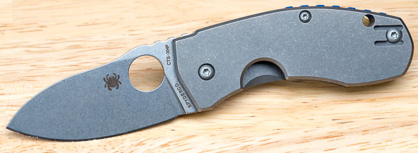 Spyderco Techno Knife Open