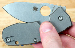 Spyderco Techno Knife Side
