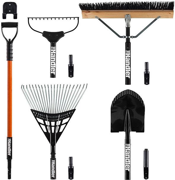 The handler a modular lawn garden hand tool system for Lawn garden hand tools