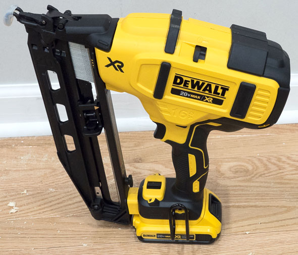 Dewalt Brushless Cordless Finish Nailer