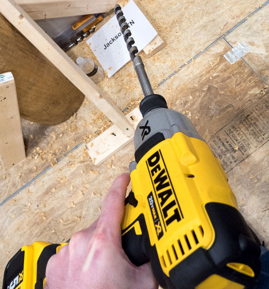Dewalt Brushless Impact with Quick Chuck