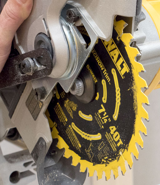 Best miter saw blade dewalt cordless miter saw with precision trim blade greentooth Choice Image